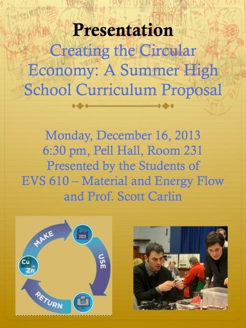 Circular Economy Presentatiion
