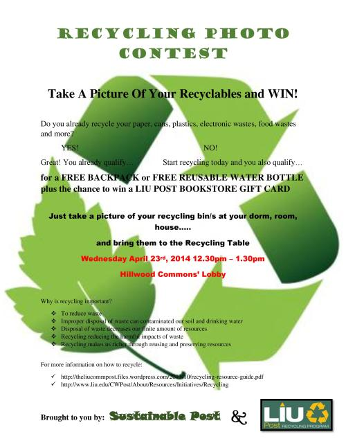 Recycling Photo Contest