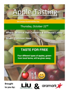 Apple Tasting Flyer