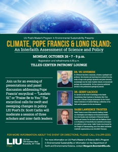 Climate Change Conference Flyer 8.5x11