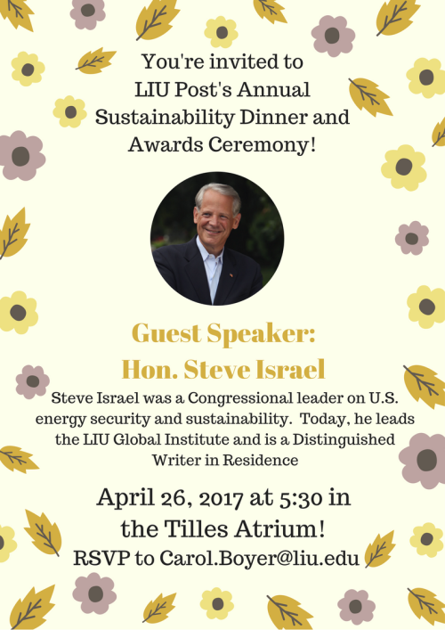 YOU'RE INVITED Earth Day 2017